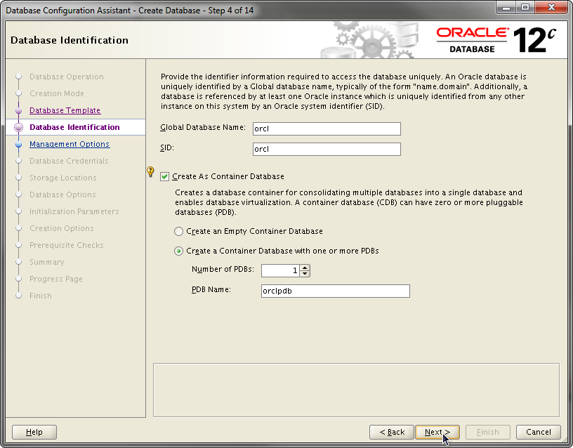 2014-07-30 11_55_14-Database Configuration Assistant - Create Database - Step 4 of 14
