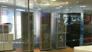 Exadata racks on display